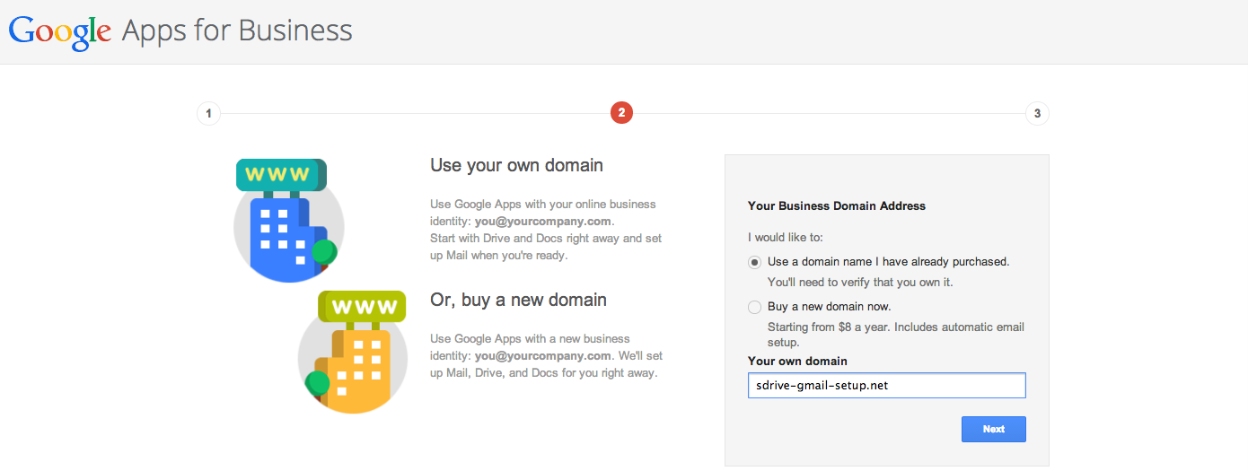 Adding Your Domain