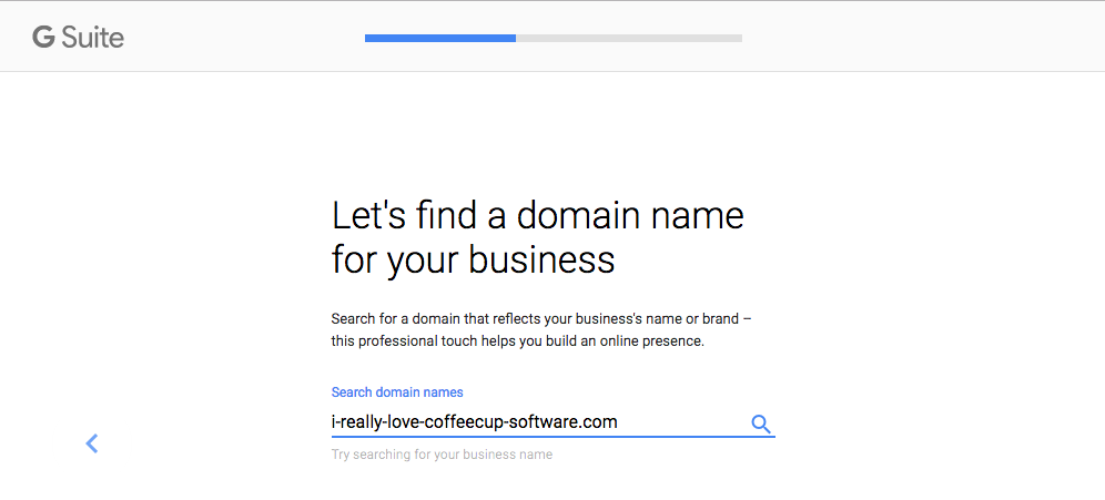 Verify Domain Ownership.