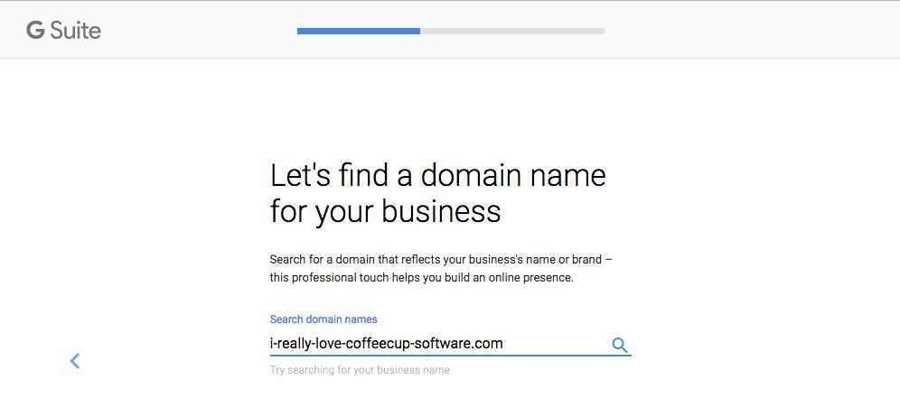Verify Domain Ownership.
