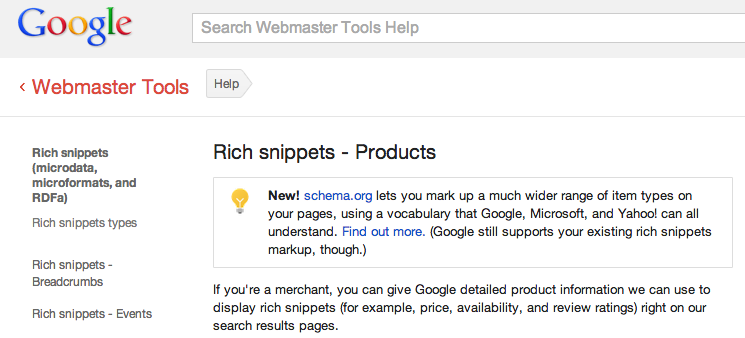 Rich Snippets.