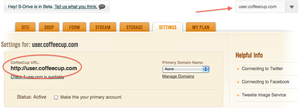 how to get your own domain name