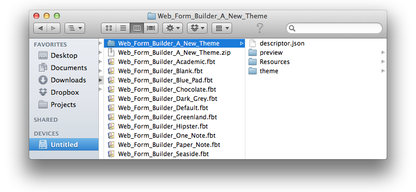 Preparing a New OS X Web Form Builder    | CoffeeCup Software