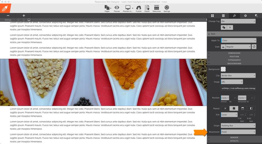 Http Www Coffeecup Com Help Articles Responsive Site Designer The Design Pane