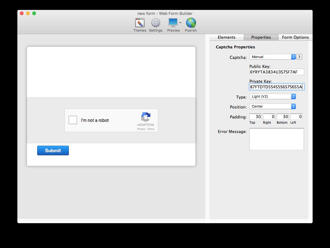 Understanding ReCAPTCHA in Web Form    | CoffeeCup Software