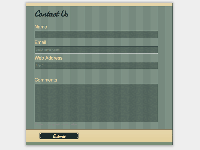 Autumn - Web Form Builder Theme