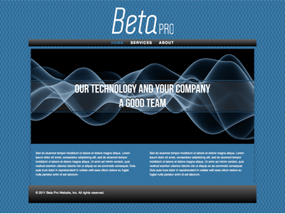 BetaPro - HTML Editor (Responsive)