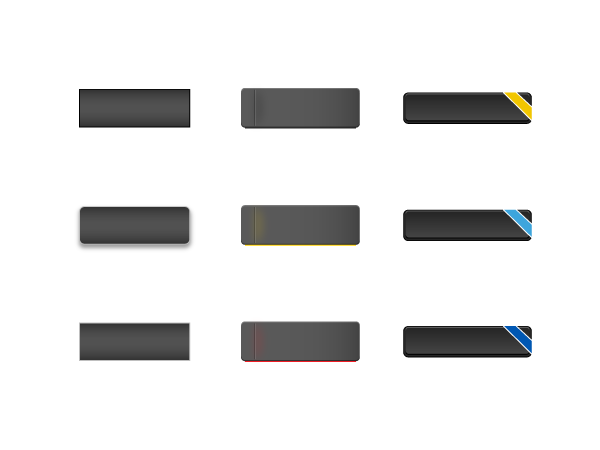 Blackboard Buttons Pack