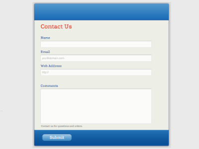 Blue Pad - Web Form Builder (Responsive)