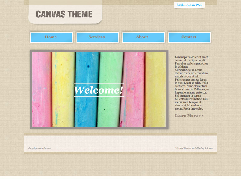 visual site designer themes coffeecup software store