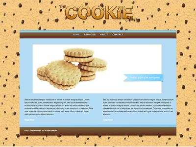 Cookie - HTML Editor Theme