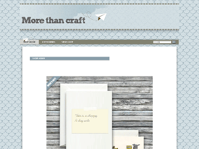 Craft - Shopping Cart Creator Theme