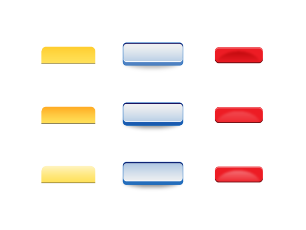 Crayon Buttons Pack