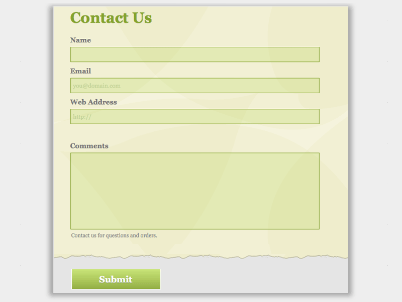 Ecologic - Web Form Builder (Responsive)