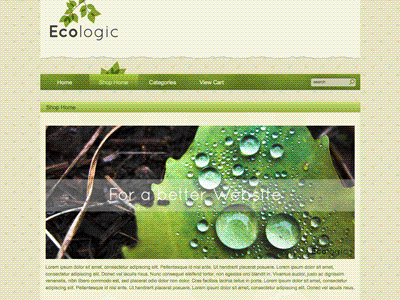 Ecologic - Shopping Cart Creator Theme