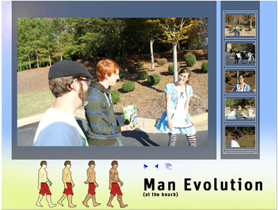 Evolution - Photo Gallery Theme