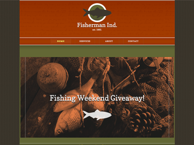Fisherman Ind - HTML Editor (Responsive)