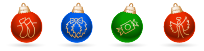 Holidays - Jingle Balls Graphics Pack (12 files)