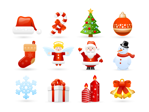 Holidays - Sweet Characters Graphics Pack
