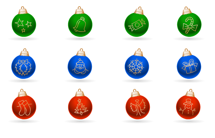 Holidays - Jingle Balls Animation Pack