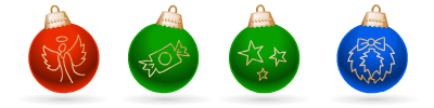 Holidays - Jingle Balls Animation Pack (12 Files)