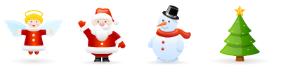 Holidays - Sweet Characters Animation Pack (12 Files)