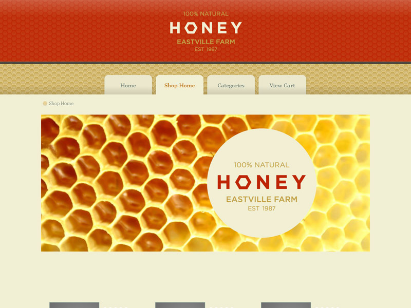 Honey - Shopping Cart Creator Theme