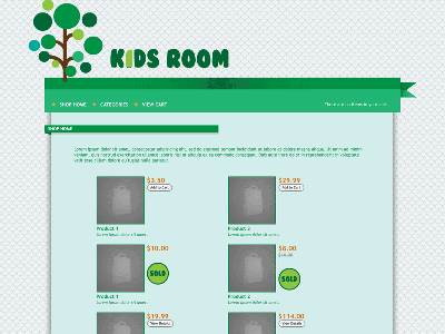 Kids - Shopping Cart Creator Theme