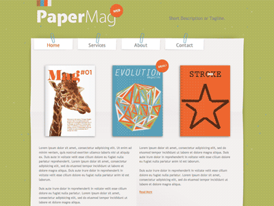 PaperMag - HTML Editor Theme