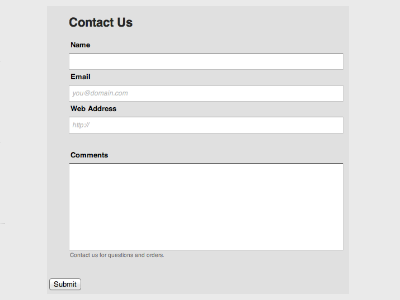 Transparent - Web Form Builder (Responsive)