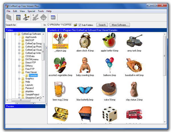 CoffeeCup Free Image Viewer Plus