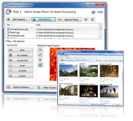 PixConverter 4.0 Screenshot