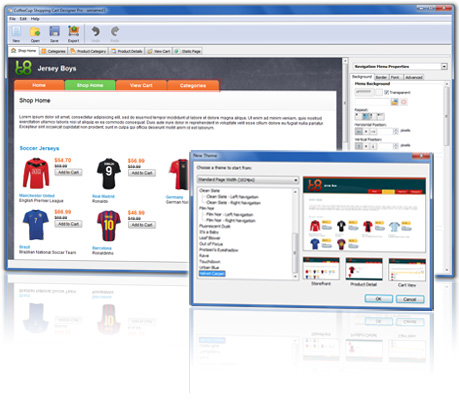 Shopping Cart Designer Pro 3.9 Screenshot